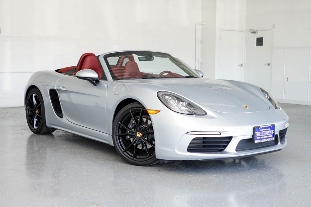 Certified Used Porsche 718 Boxster Base